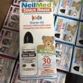 Bình Rửa Mũi NeilMed Kid 120ml Kèm 30 Gói Muối