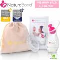 Cốc Hứng Sữa NatureBond - Giải Pháp Hút Sữa Cho Mẹ (Mỹ)
