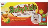 Siro Yến Sào Ăn Ngủ Ngon Babykids Cho Trẻ Biếng Ăn 10ml