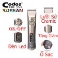 Tông Đơ Cắt Tóc Chuyên Nghiệp Codos980 Hàn Quốc Chính Hãng