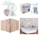 Combo 4 Sản Phẩm Hút Sữa Siêu Tiết Kiệm Không Thể Thiếu Cho Mẹ Bầu