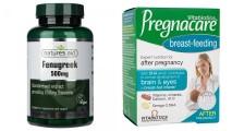 Combo Viên Uống Lợi Sữa Và Bổ Sung Vitamin Cho Mẹ Bầu Sau Sinh
