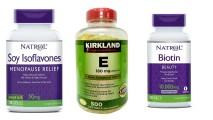 Combo Vitamin Hỗ Trợ Cân Bằng Nội Tiết Tố, Giúp Đẹp Da Và Hỗ Trợ Nhanh Mọc Tóc