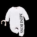 Bộ Body Dài Tay Tặng Kèm Mũ Cho Bé Mini Boss
