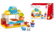 Bộ Đồ Chơi Lắp Ghép Cửa Hàng Bánh Kẹo Toys House