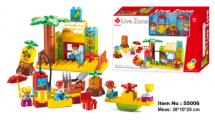 Bộ Đồ Chơi Lắp Ráp Mô Hình Nông Trại Toyshouse