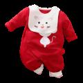 Bộ Body Suit Dài Tay Kèm Yếm Cho Bé Từ 3 -13kg
