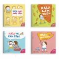 Sách Combo 4 Cuốn Sách Ehon Những Câu Chuyện Kì Lạ Của Hasu