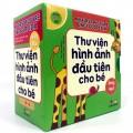 Trọn Bộ Sách Thư Viện Hình Ảnh Đầu Tiên Cho Bé Từ 0-6 Tuổi, Song Ngữ Việt Anh