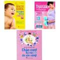 Sách Combo Thai Giáo Và Chăm Sóc Sức Khỏe Cho Bé Dành Cho Bố Mẹ