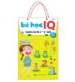 Trọn Bộ Sách Bé Học IQ, Hỗ Trợ Phát Triển Trí Tuệ