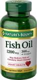 Dầu cá Nature's Bounty Fish Oil 1200mg