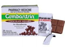 Kẹo tẩy giun Combantrin Vị Socola