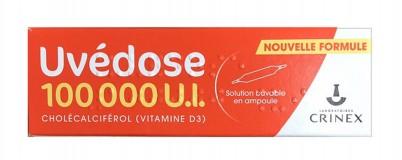 Vitamin D3 Uvedose 100000 UI 1 Liều Cho 3 Tháng