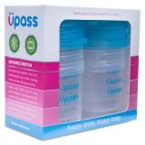 Bộ 6 Cốc Trữ Sữa Và Thức Ăn Upass Không Chứa BPA
