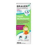 Siro Bổ Sung Vitamin Tổng Hợp Brauer Cho Trẻ 1-3 Tuổi (Úc)
