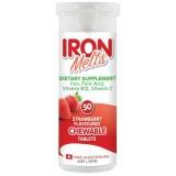 Iron Melts Viên Uống Bổ Sung Sắt, Acid Folic, Vitamin B12, Vitamin C