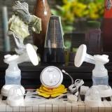 Máy Hút Sữa Điện Đôi Rupex Tặng áo hút sữa rảnh tay