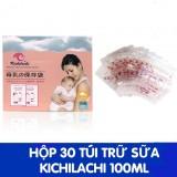 Túi Trữ Sữa Kichilachi 100ml (30 Túi/Hộp)