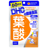 Viên uống DHC Acid Folic hỗ trợ bổ sung vitamin cho bà bầu Nhật Bản