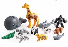 Đồ chơi xếp hình sáng tạo cho bé Lego hình thú
