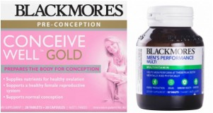 Combo vitamin hỗ trợ mang thai