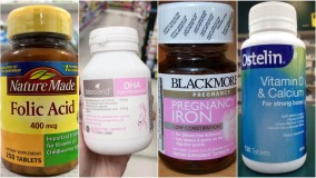 Combo viên uống bổ sung vitamin cho mẹ bầu