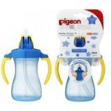 Bình tập uống nước có tay câm, ống hút Pigeon nhiều size, nhiều màu