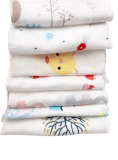Set khăn sữa sợi tre Jinro 2 lớp cho bé
