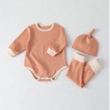 Set body dài tay kèm mũ cho bé từ 4 -11kg