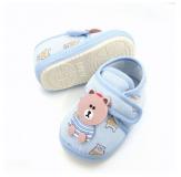Giày tập đi đế cao su chống trơn trượt cho bé