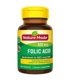Folic Acid Nature Made  Viên Uống Cho Bà Bầu