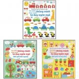 Bộ 3 cuốn sách Tìm kiếm thông minh phát triển tư duy ngôn ngữ cho bé