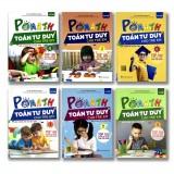 Sách Toán tư duy Pomatch cho trẻ từ 4 đến 6 tuổi