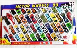 Set 50 chiếc ô tô cho bé chơi nhiều màu