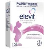 Elevit Úc - Vitamin cho bà bầu (100 viên)