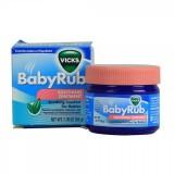 Kem bôi ấm ngực Babyrub cho trẻ dưới 2 tuổi