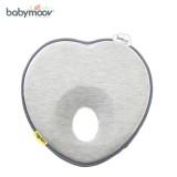 Gối tránh bẹt đầu Babymoov Lovenest màu ghi BM14299