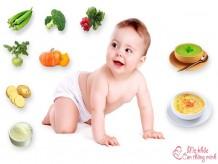 Lịch ăn dặm cho bé 6 tháng, mẹ nên biết để nuôi con dễ dàng hơn