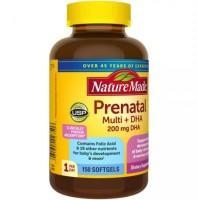 Vitamin Tổng Hợp Cho Bà Bầu Nature Made Prenatal Multi DHA