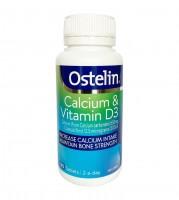 Viên Hỗ Trợ Bổ Sung Canxi và D3 Ostelin Vitamin D & Calcium