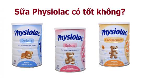 Review thực tế: Sữa Physiolac có tốt không?