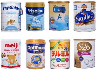 Top sữa bột tốt nhất cho trẻ trên 1 tuổi
