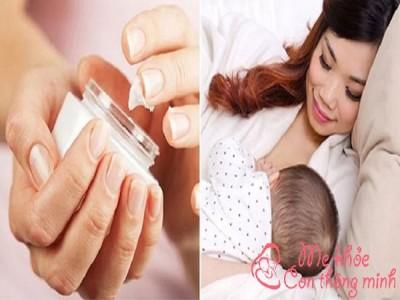 Phụ nữ đang cho con bú dùng kem trị nám được không?