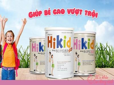 Sữa Hikid có mấy loại? Cách pha sữa Hikid chuẩn nhất giúp trẻ cao lớn vượt trội