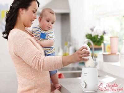 Mách mẹ cách sử dụng máy hâm sữa vừa bền vừa tốt