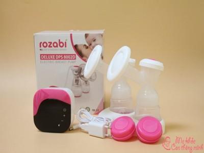 Review tường tận: Máy hút sữa Rozabi Deluxe Plus có tốt không?