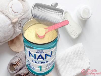 Cách pha sữa Nan đúng chuẩn, đảm bảo dinh dưỡng cho bé