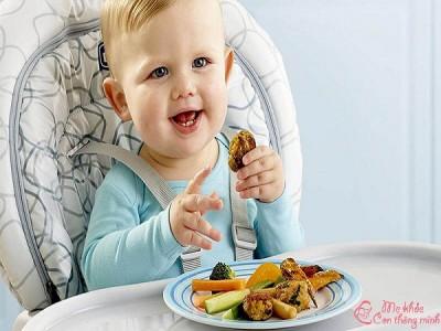 Bật mí 6 món ăn ngon cho bé 1 tuổi giúp bé lên cân vù vù