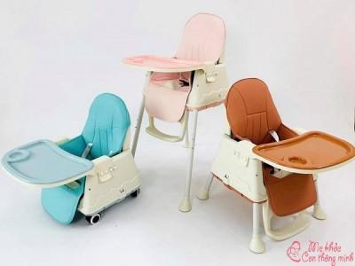 Top 5 mẫu ghế ăn dặm tốt nhất cho bé năm 2021